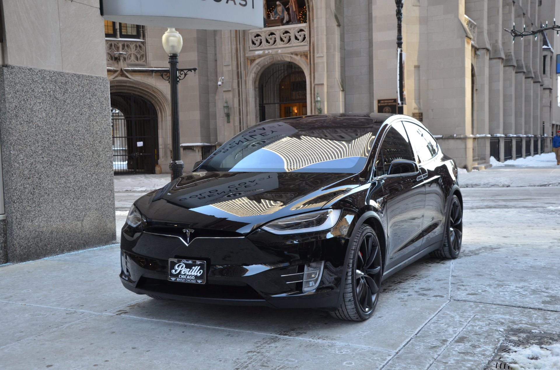 2016 tesla model x p90d stock gc1974b for sale near chicago il il tesla dealer. Black Bedroom Furniture Sets. Home Design Ideas