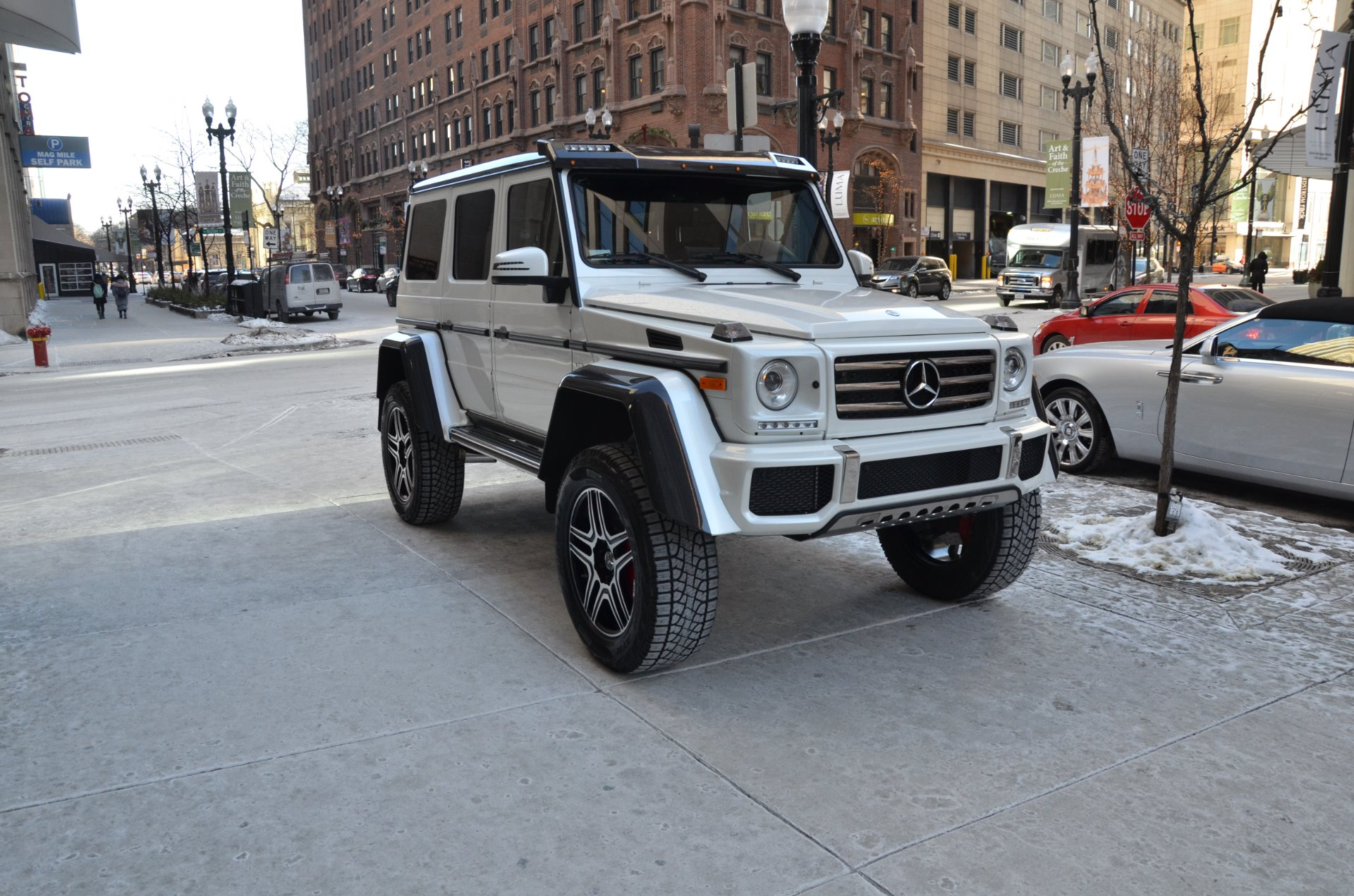 Used 2018 Mercedes Benz G Cl G550 4x4 Chicago Il