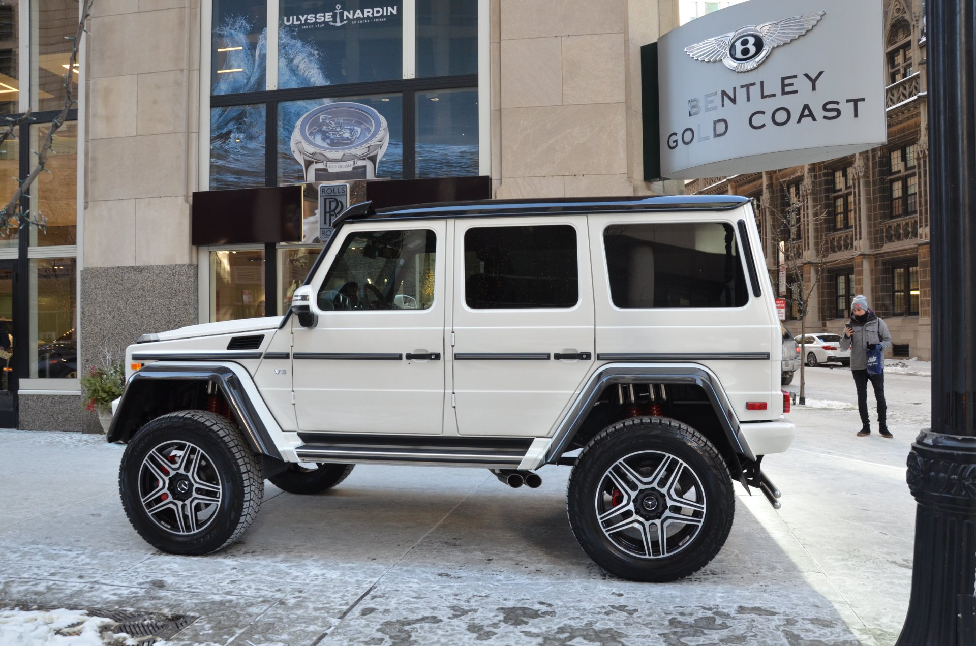 G Wagon 4x4 Price >> 2018 Mercedes Benz G Class G550 4x4 Stock 280000 For Sale