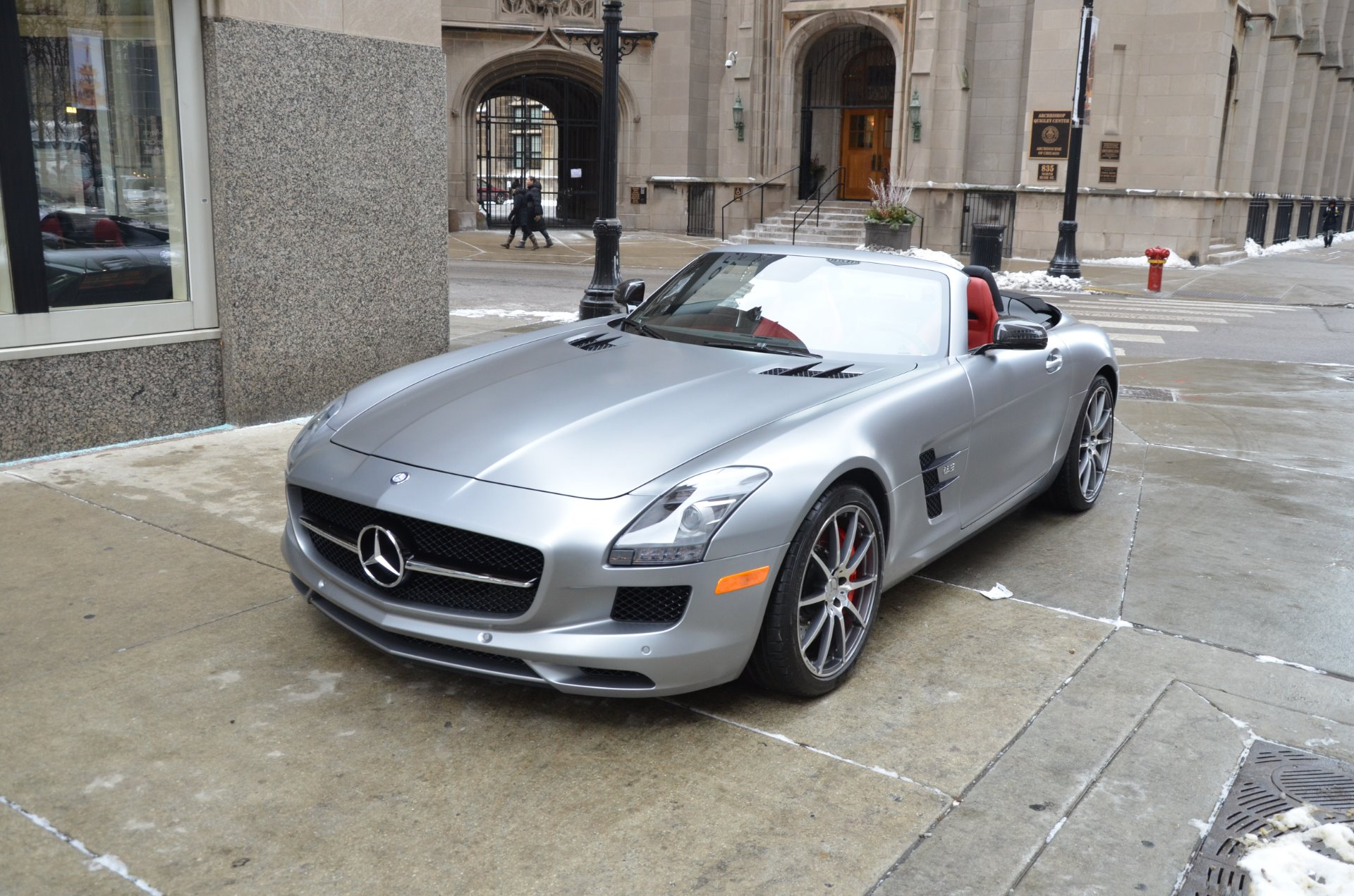 2013 Mercedes Benz Sls Amg Gt Roadster Stock R456aa For Sale Near Chicago Il Il Mercedes Benz Dealer