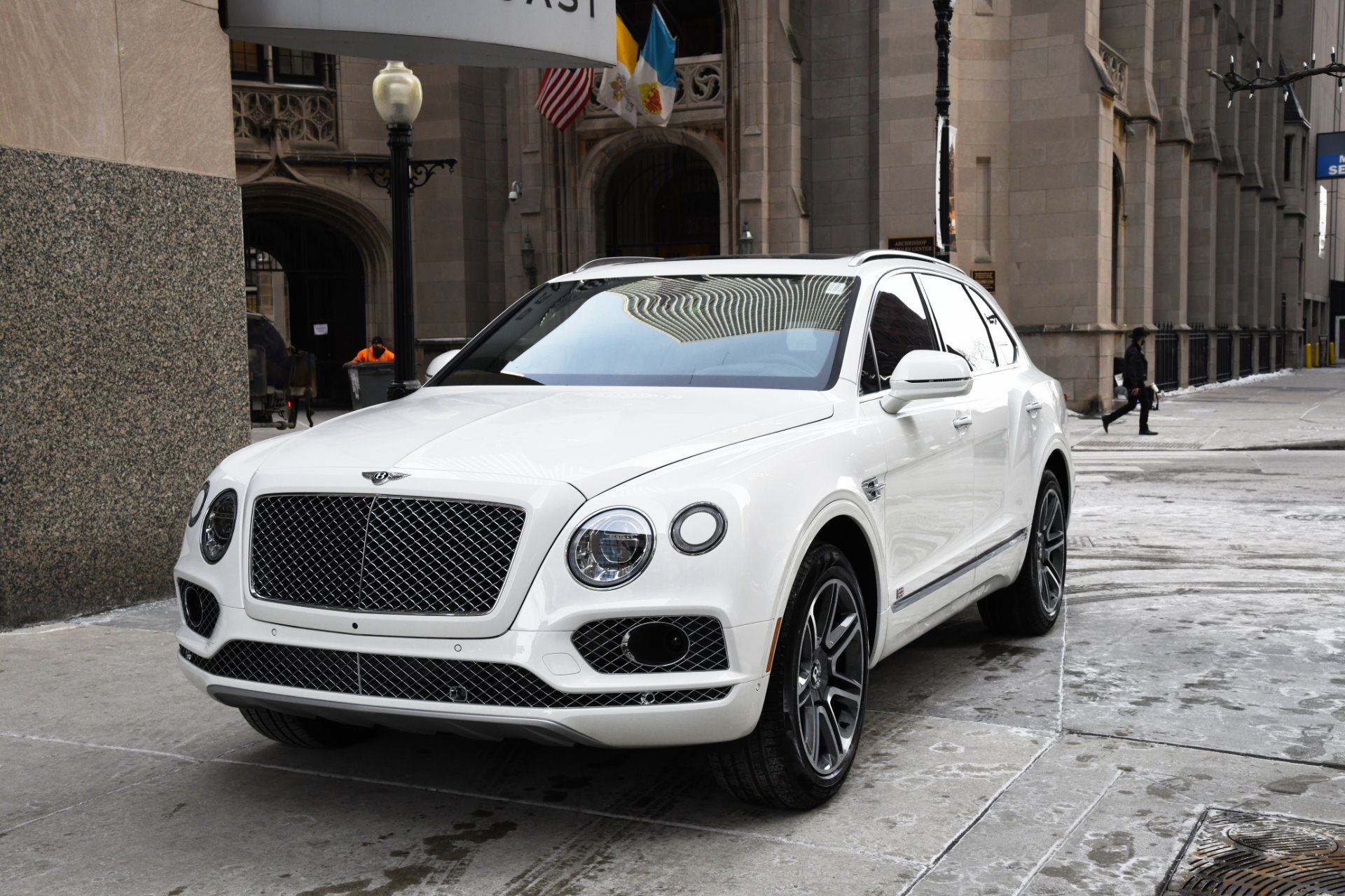 2018 Bentley Bentayga Onyx Edition Stock B945 S For Sale Near Chicago Il Il Bentley Dealer