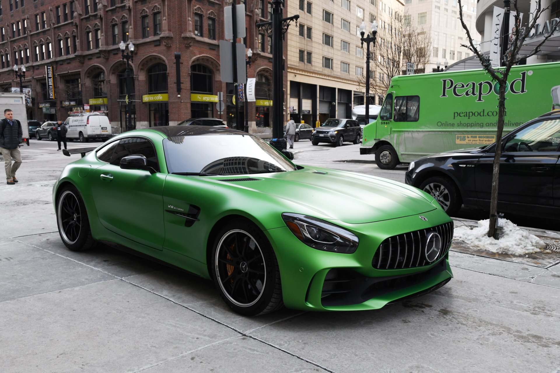 2018 mercedes benz amg gt r stock r493a for sale near for Mercedes benz chicago dealers