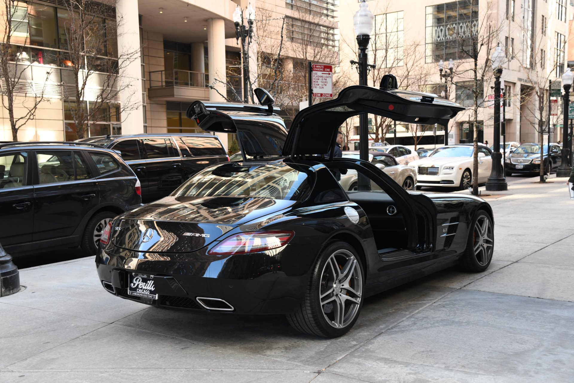 2011 mercedes benz sls amg stock l438c for sale near for Mercedes benz chicago dealers