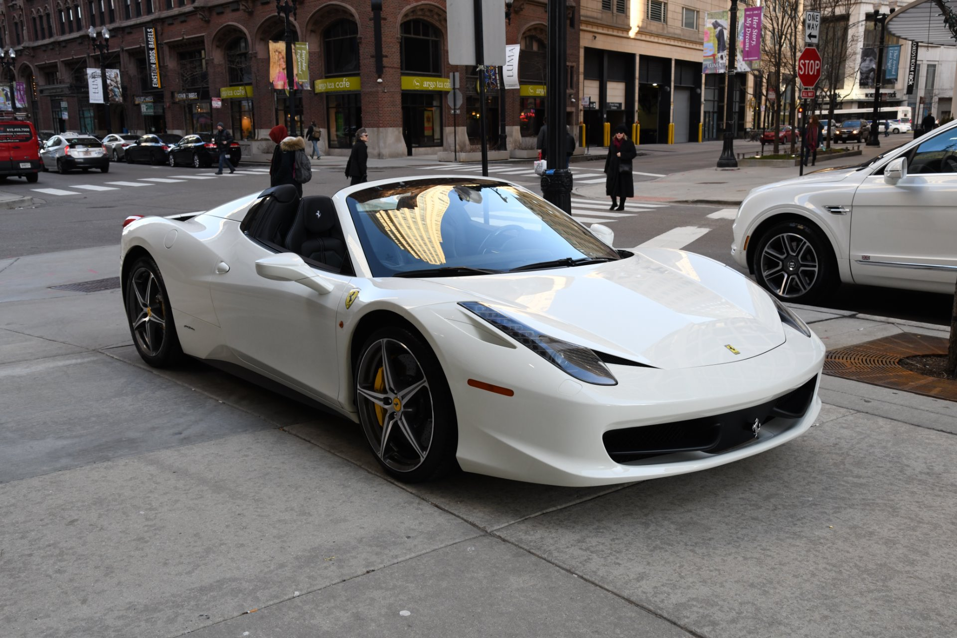 2015 ferrari 458 spider stock l427a for sale near. Black Bedroom Furniture Sets. Home Design Ideas