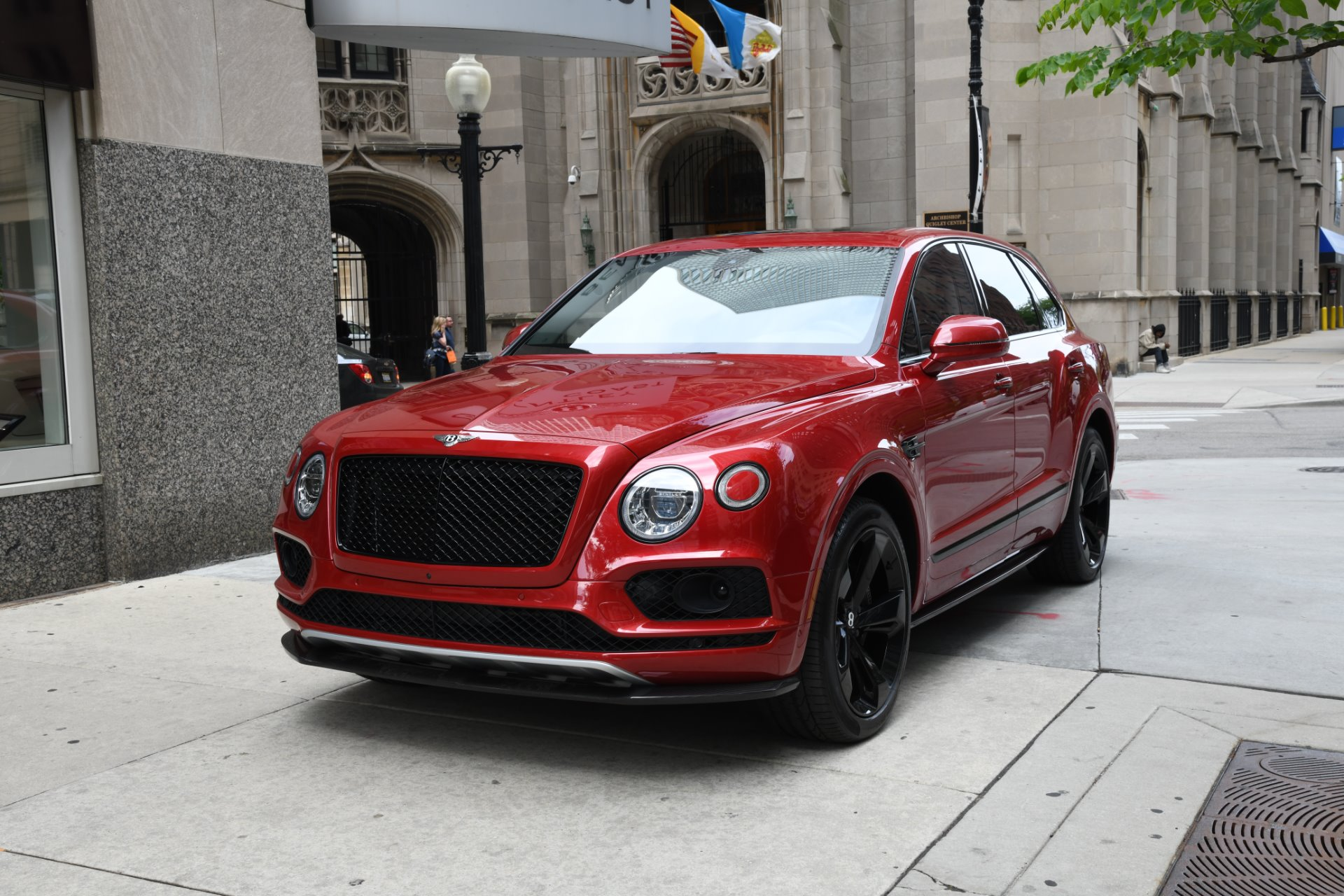 2018 Bentley Bentayga Black Edition Stock B1066 For Sale Near Chicago Il Il Bentley Dealer