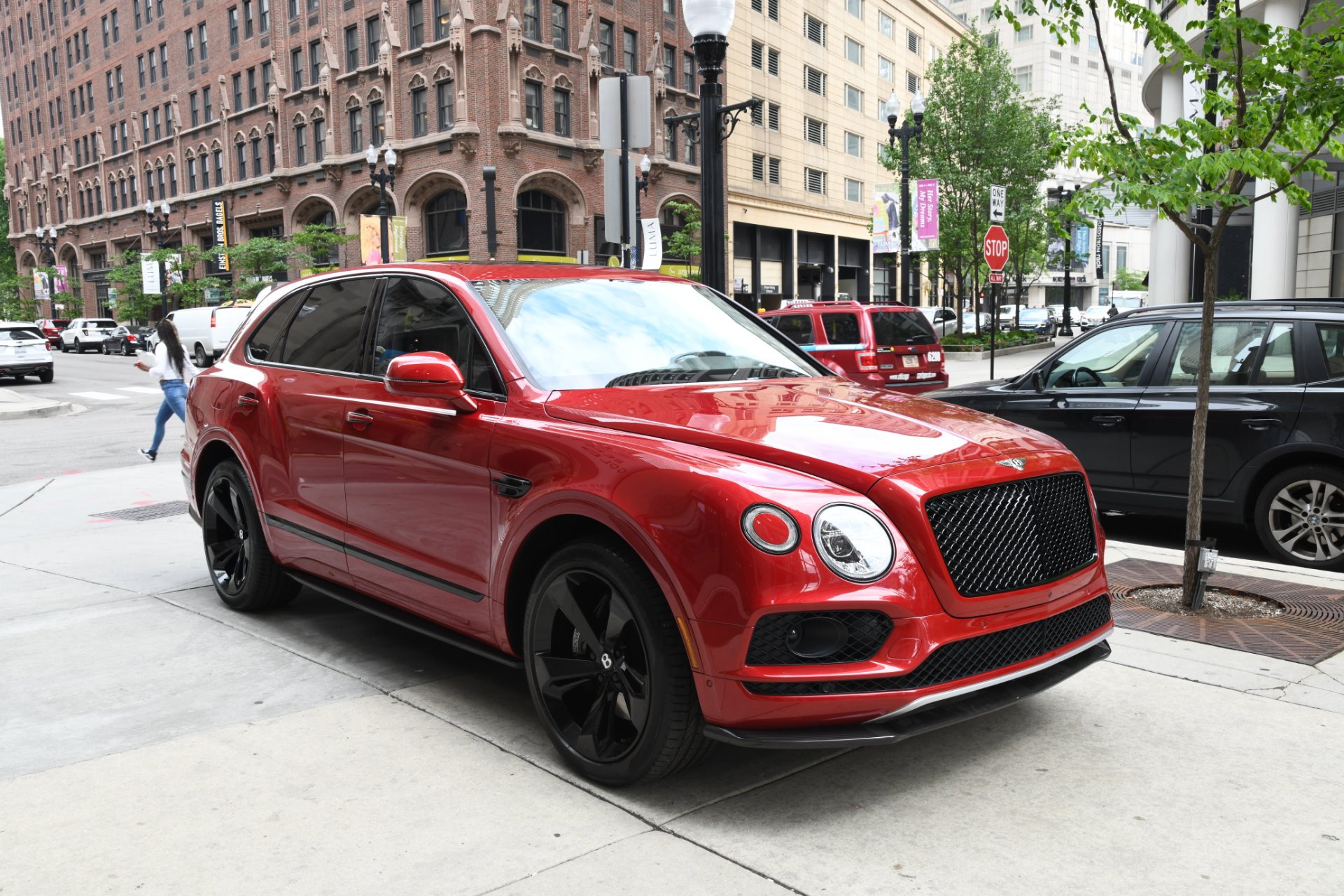 2018 Bentley Bentayga Black Edition Stock # B1066 For Sale