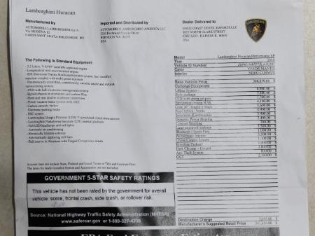 Used 2018 Lamborghini Huracan Performante Spyder LP 640-4 Performante Spyder | Chicago, IL