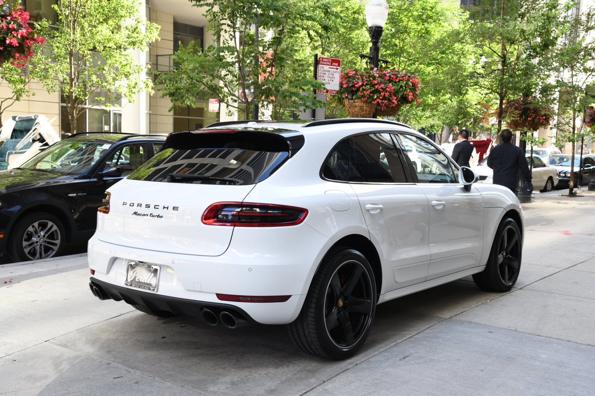 2018 Porsche Macan Turbo Stock B934a