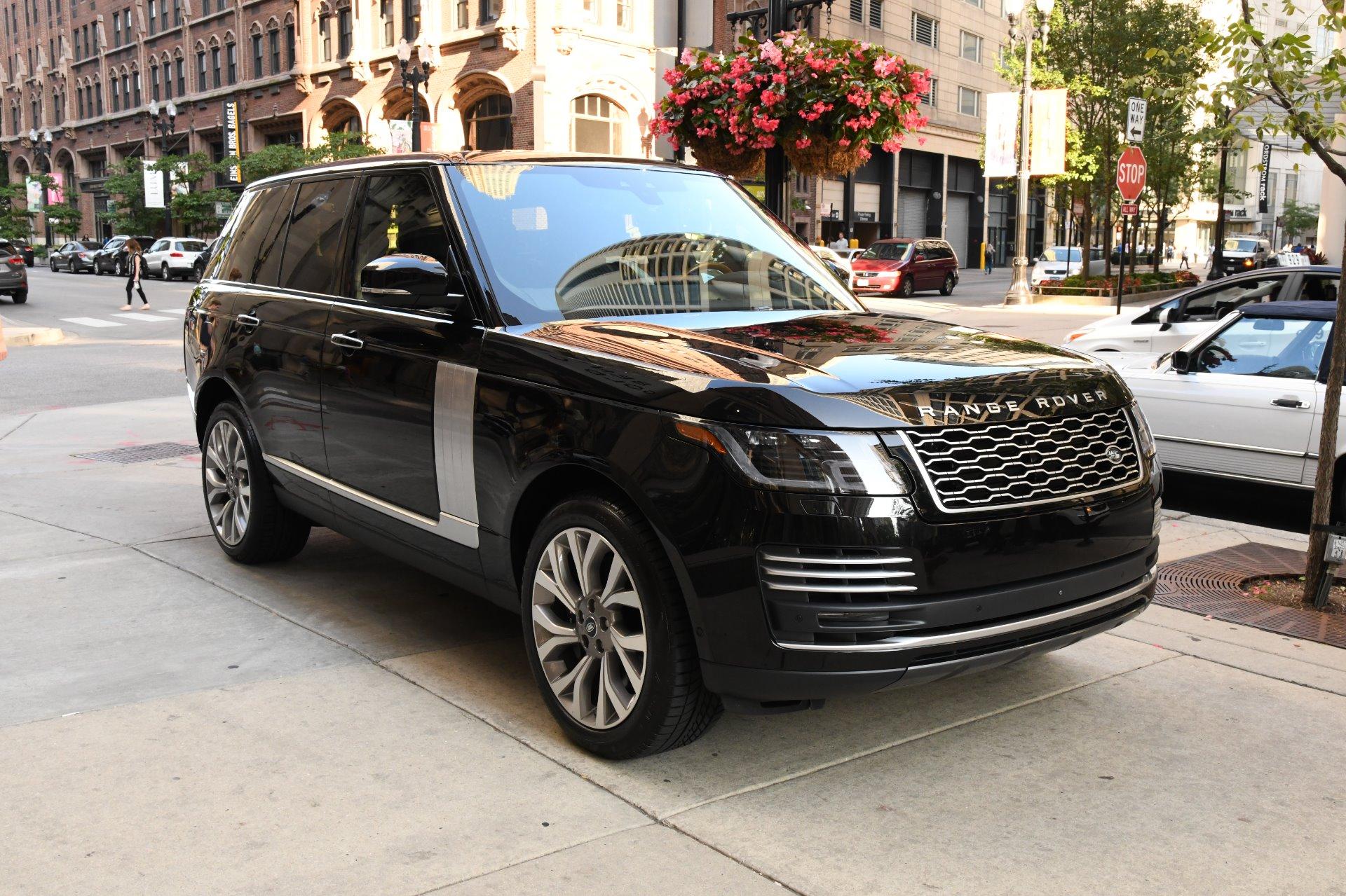 Land Rover Chicago >> 2018 Land Rover Range Rover Autobiography Stock B1063a For