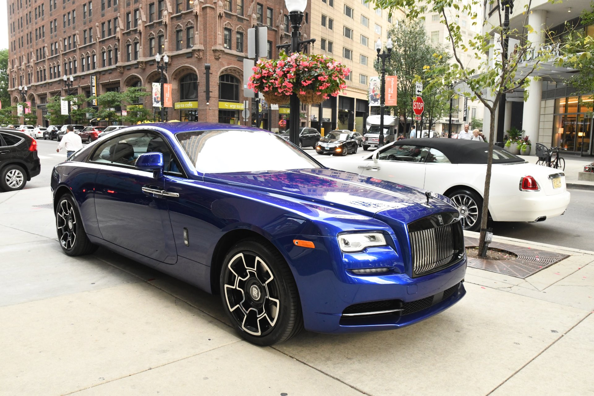 2018 Rolls Royce Wraith Black Badge Stock R551 For Sale Near Chicago Il Il Rolls Royce Dealer