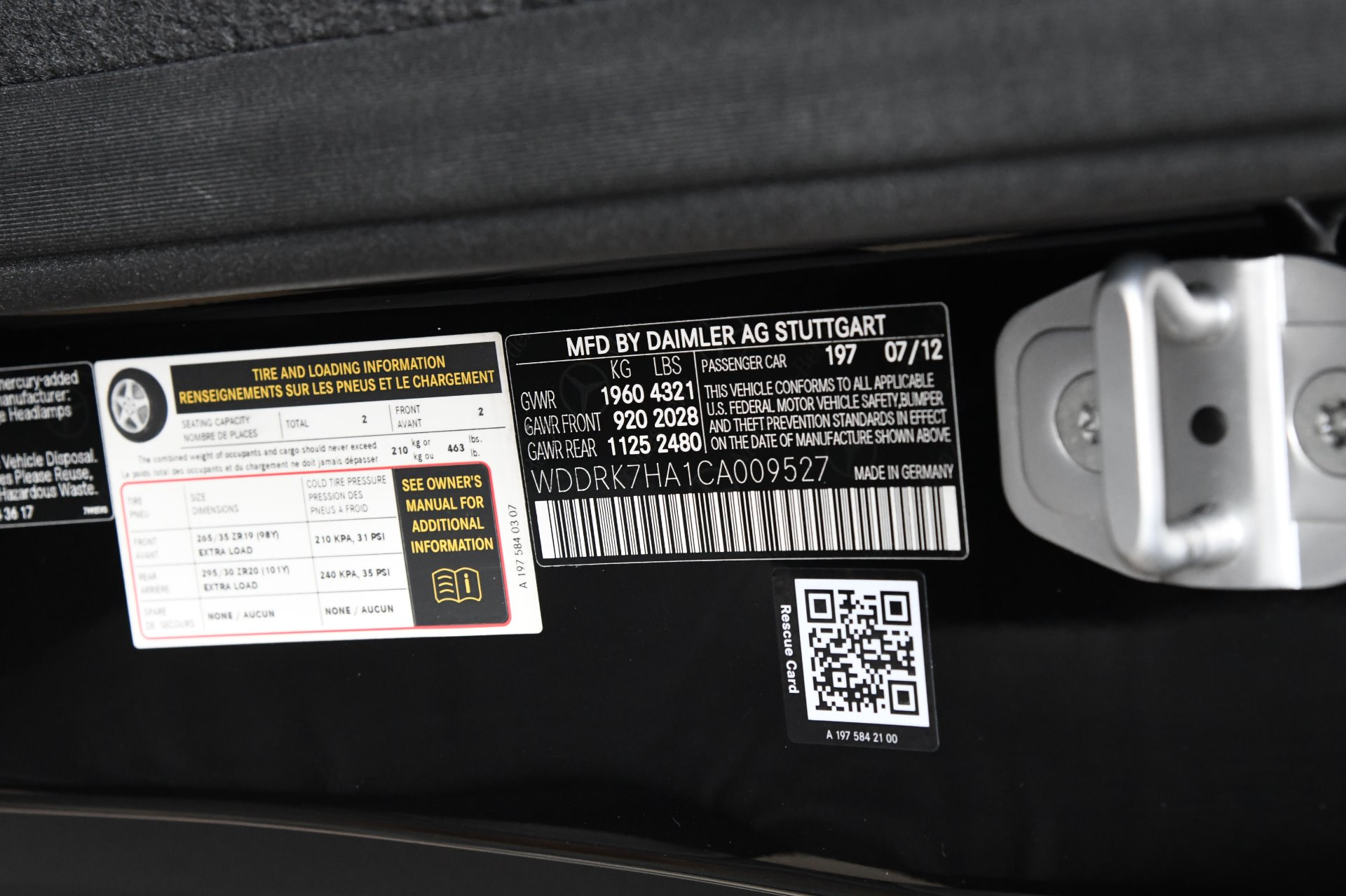 Used 2012 Mercedes-Benz SLS AMG    Chicago, IL