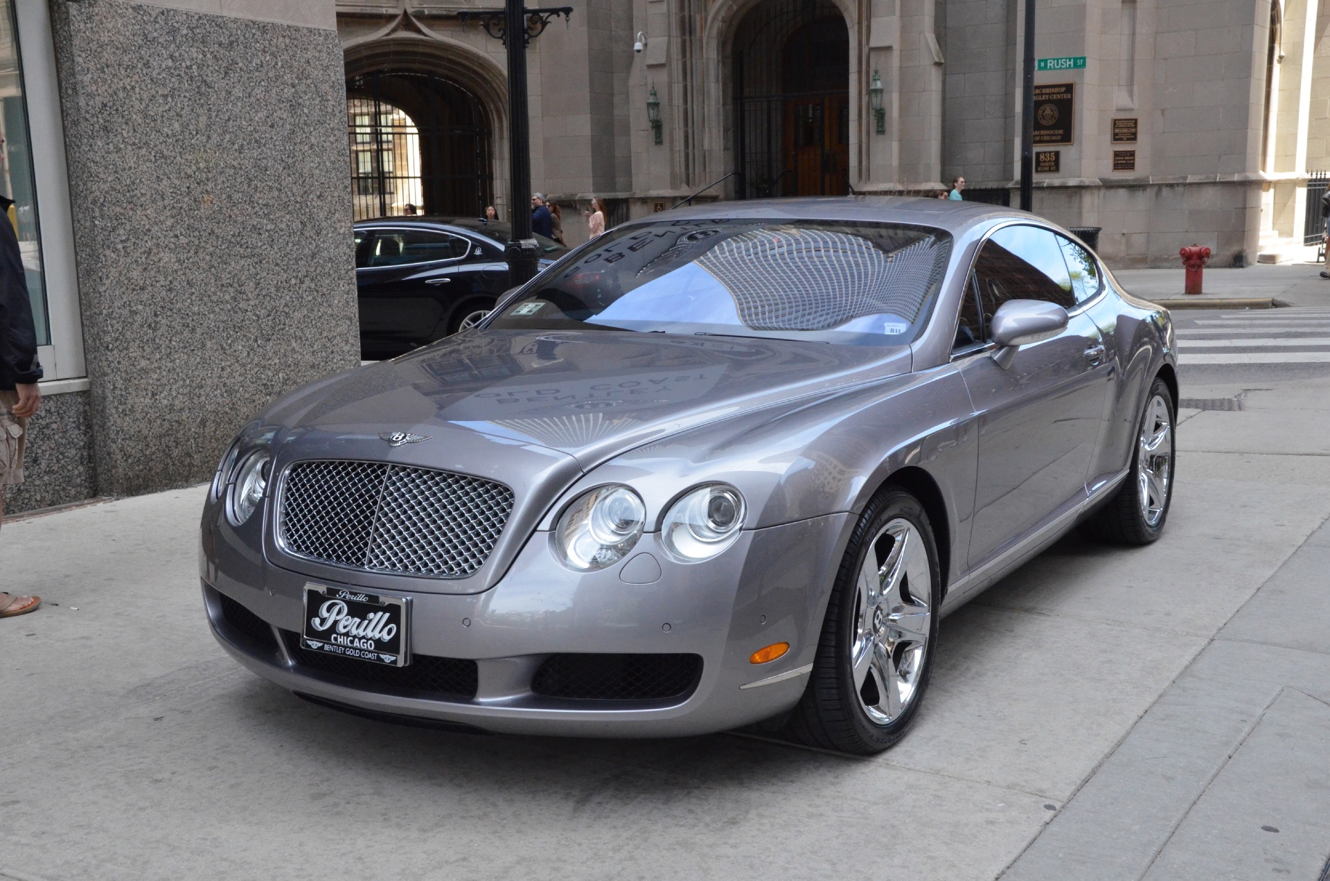 2005 bentley continental gt stock 25734 for sale near chicago il il bentley dealer. Black Bedroom Furniture Sets. Home Design Ideas
