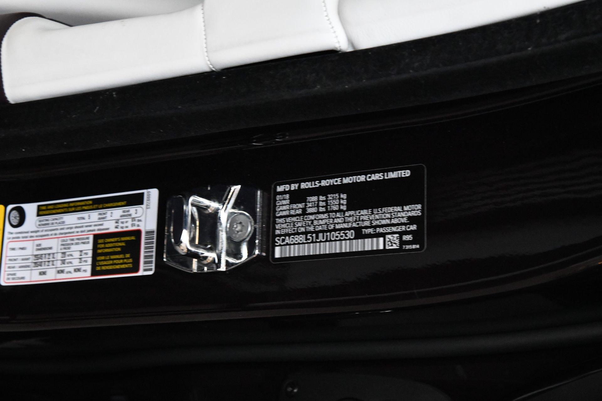 Used 2018 Rolls-Royce Phantom Extended Wheelbase EWB | Chicago, IL