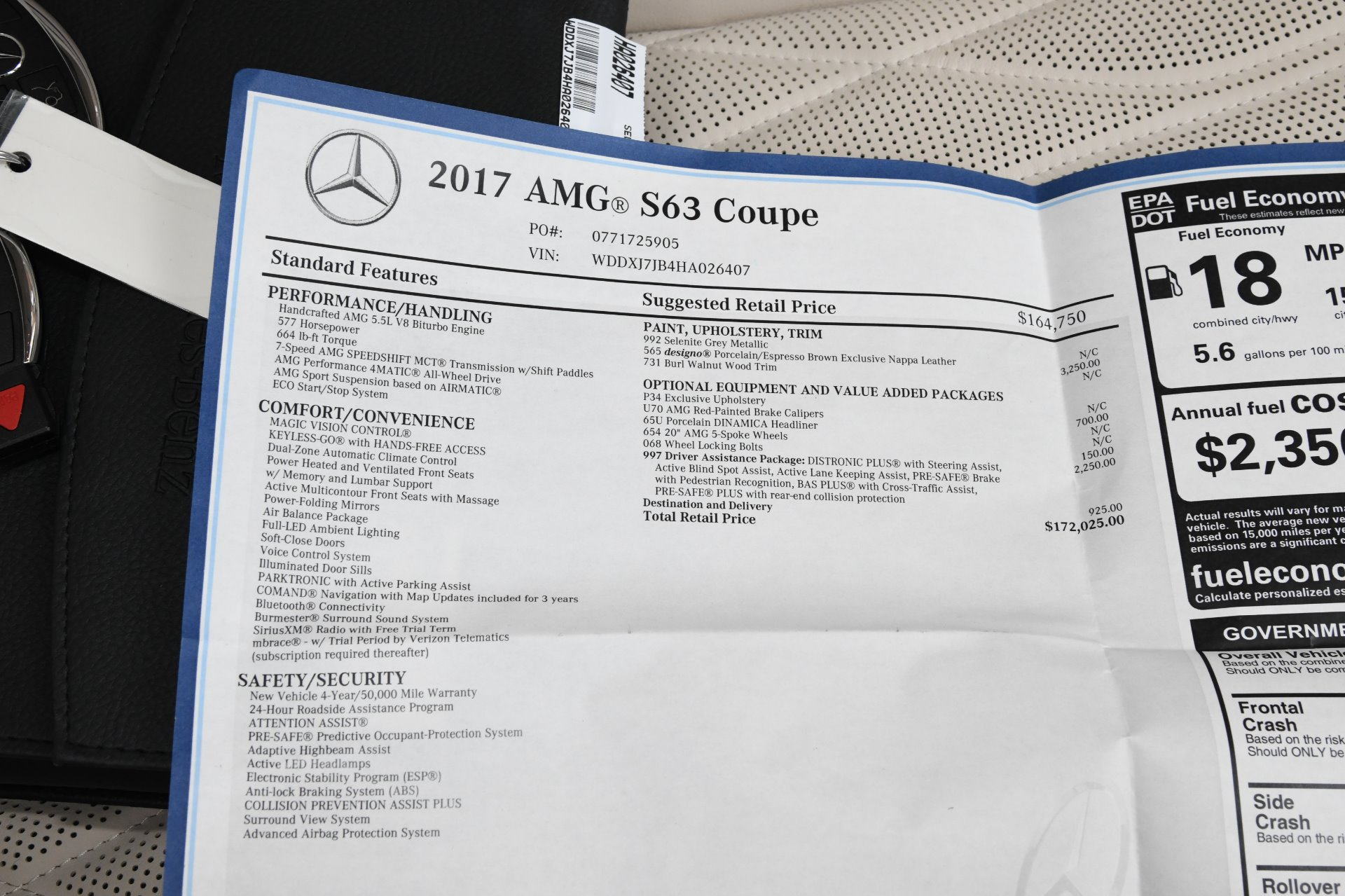 Used 2017 Mercedes-Benz S-Class AMG S 63 | Chicago, IL