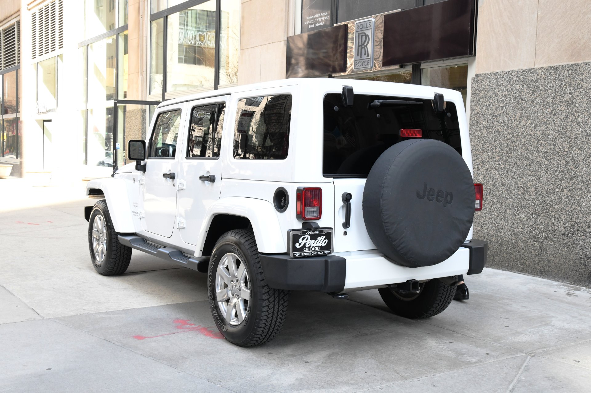 2016 Jeep Wrangler Unlimited Sahara Stock Gc Sb For Sale Near