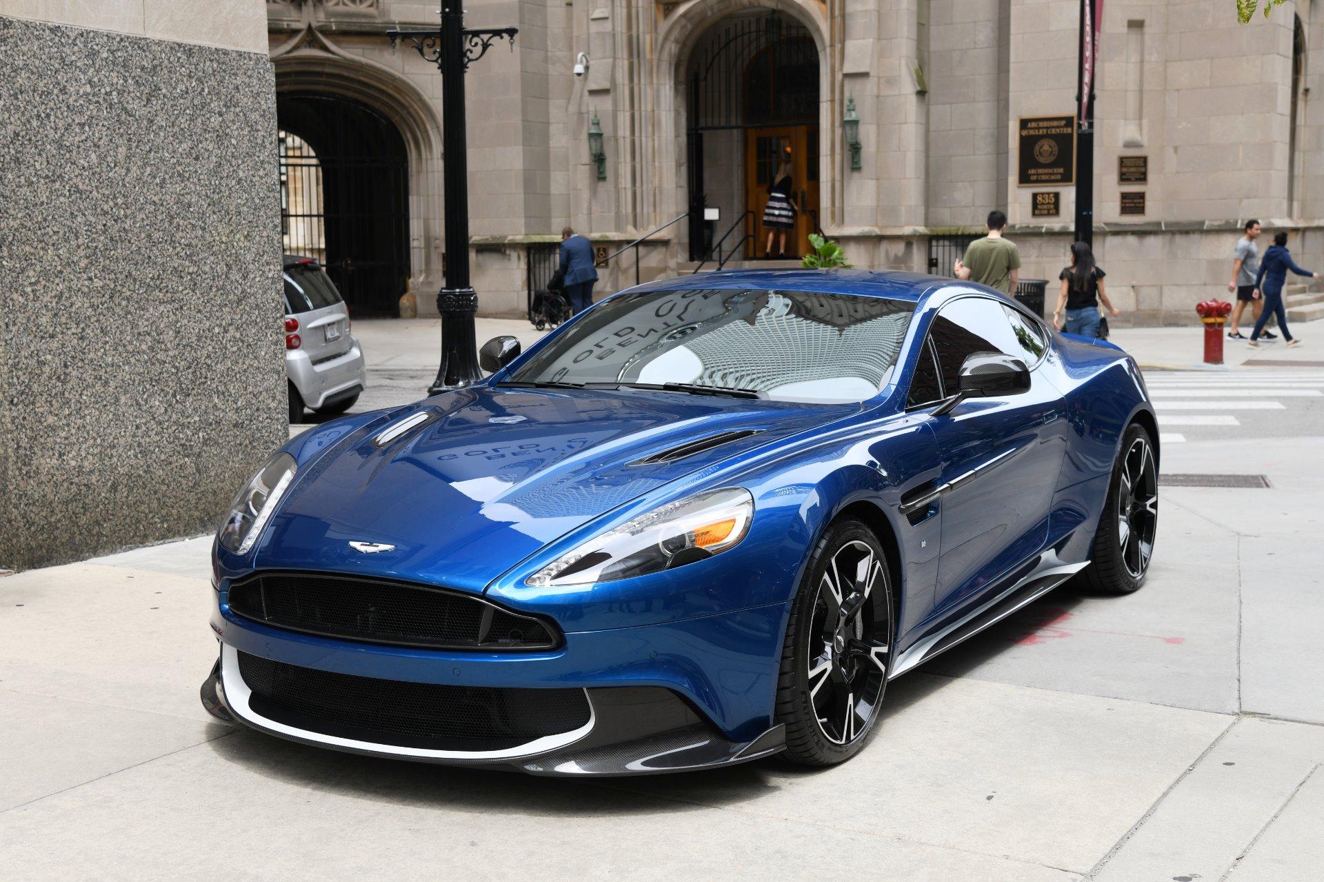 2018 Aston Martin Vanquish S Stock 03775 For Sale Near Chicago Il Il Aston Martin Dealer