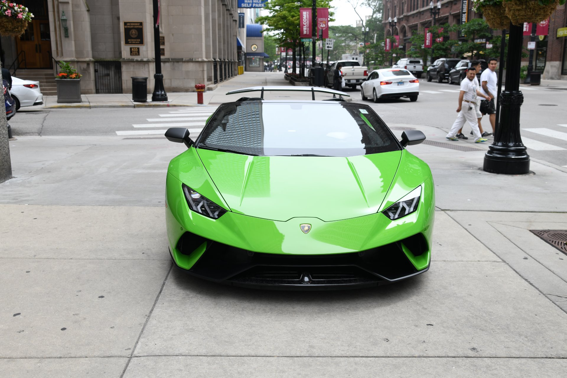 New 2019 Lamborghini Huracan Performante Spyder LP 640-4 Performante Spyder | Chicago, IL