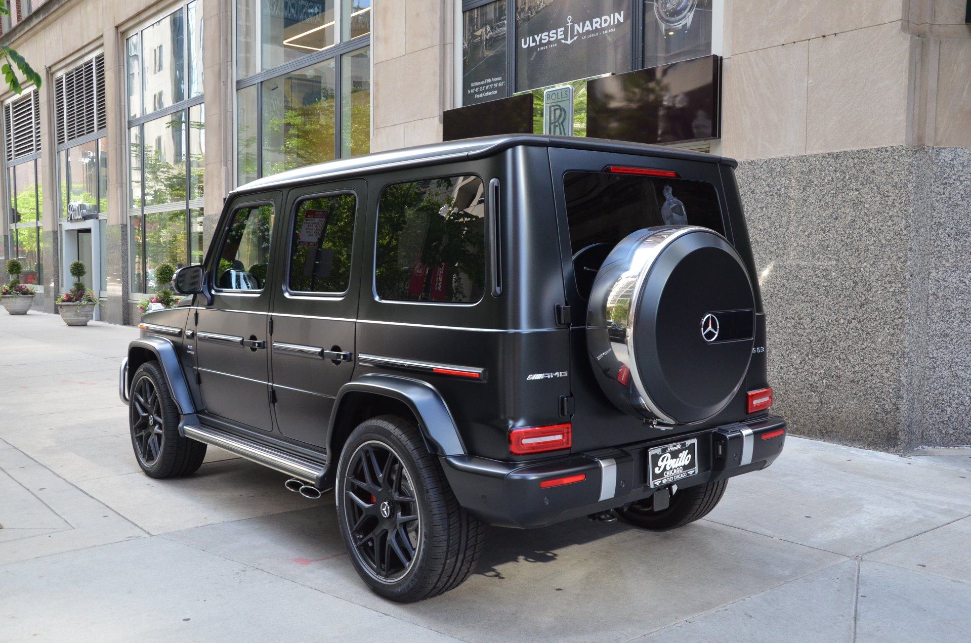 2019 Mercedes Benz G Class Amg G 63 Stock Gc Olena24197 For Sale Near Chicago Il Il Mercedes Benz Dealer