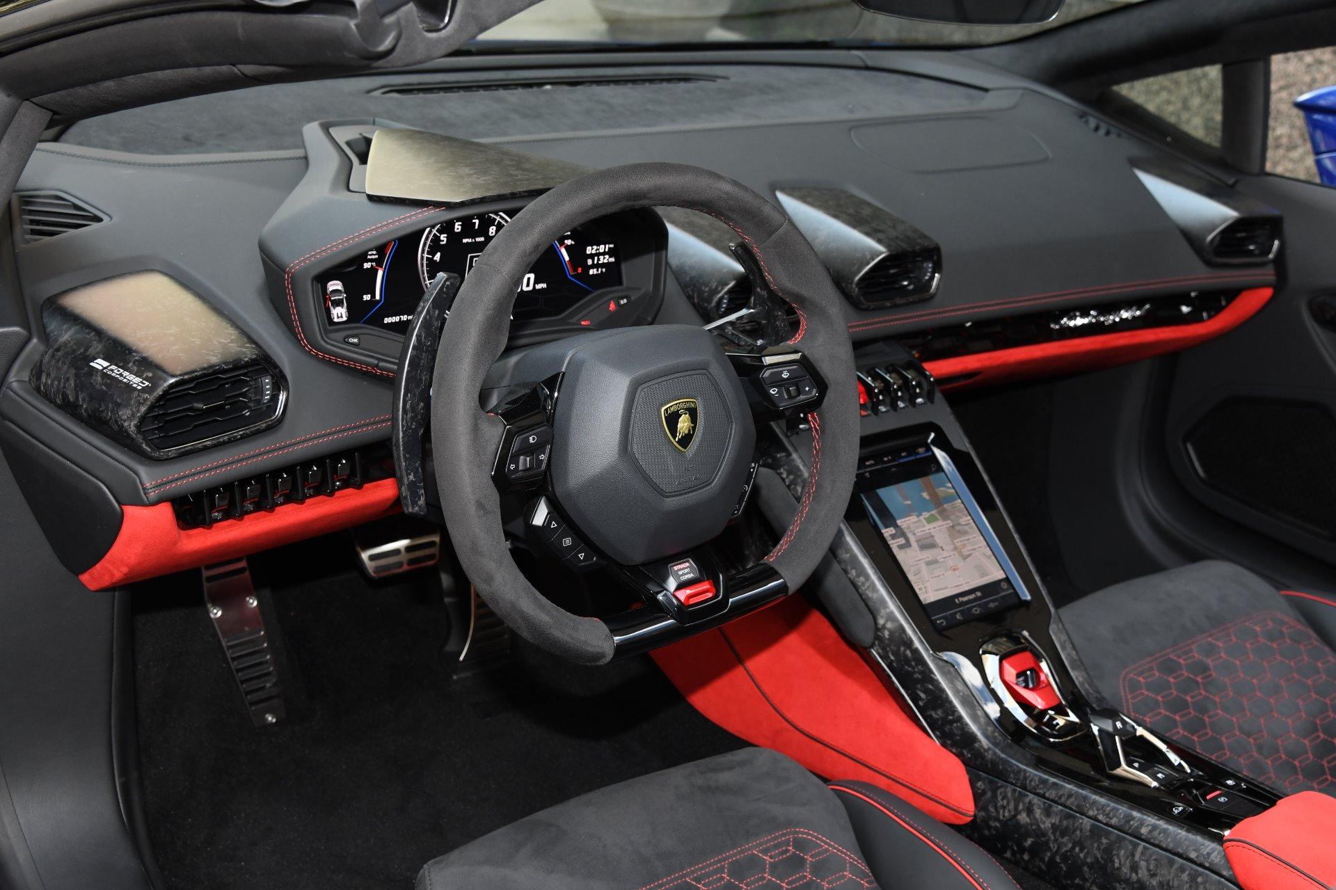 2020 Lamborghini Huracan Evo Spyder Lp 640 4 Evo Spyder Stock L670 For Sale Near Chicago Il Il Lamborghini Dealer