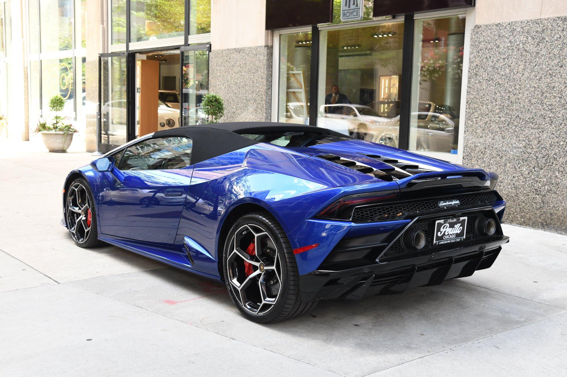 2020 Lamborghini Huracan Evo Spyder Lp 640 4 Evo Spyder