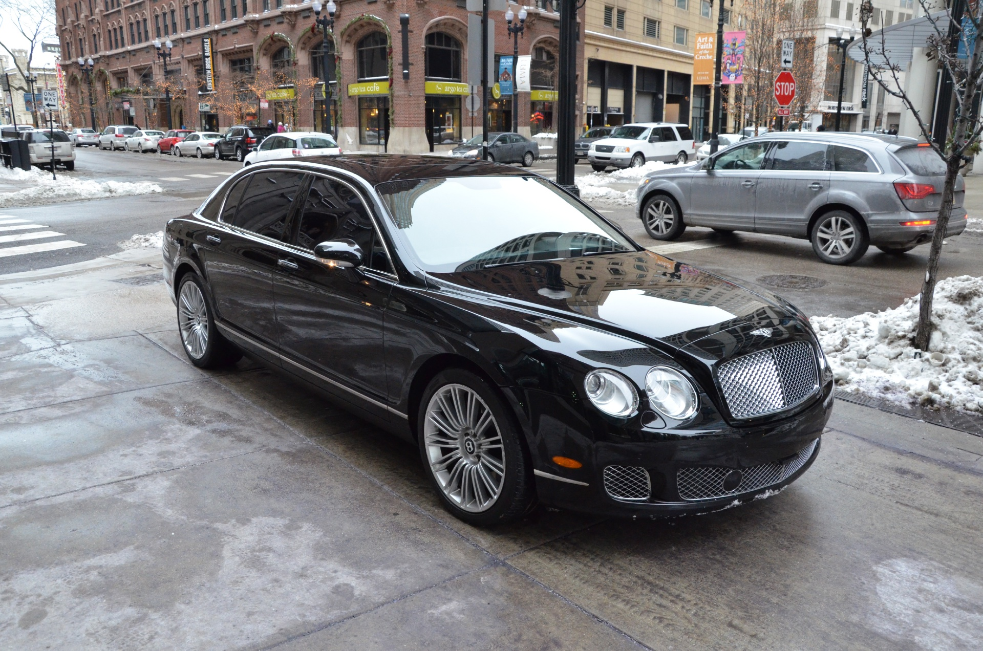 2009 bentley continental flying spur speed speed 4 seat configuration stock b537b for sale. Black Bedroom Furniture Sets. Home Design Ideas