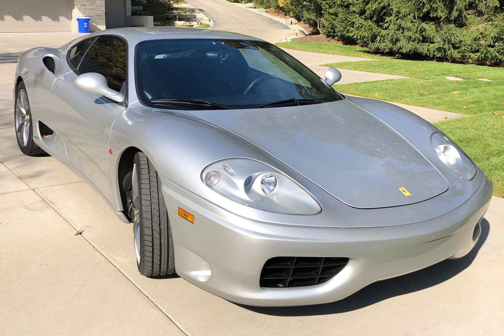 2000 Ferrari 360 Modena Sunroof Manual Stock Gc Sb F For Sale Near Chicago Il Il Ferrari Dealer