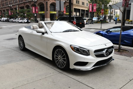 Used 2017 Mercedes-Benz S-Class SPORT AMG CONVERTIBLE | Chicago, IL