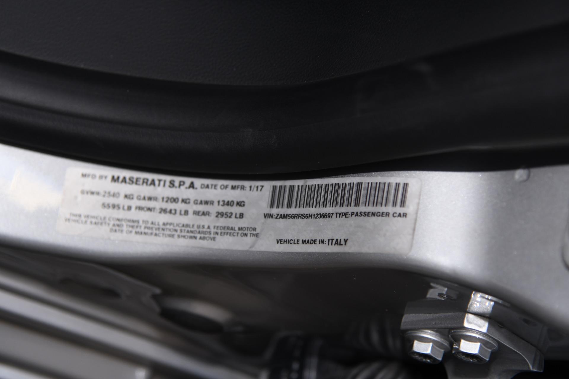 Used 2017 Maserati Quattroporte SQ4 S Q4 GranSport | Chicago, IL