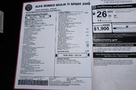 New 2020 Alfa Romeo Giulia TI SPORT Ti | Chicago, IL