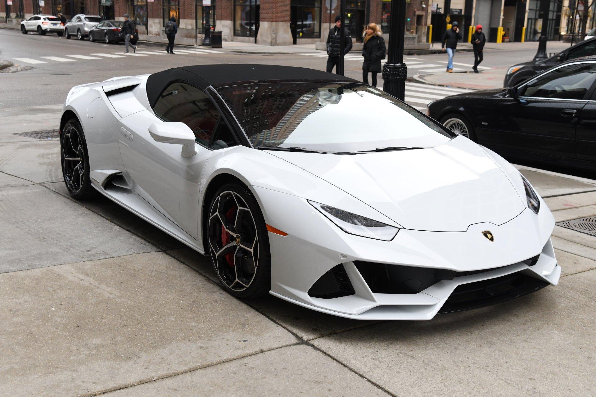 2020 Lamborghini Huracan Evo Spyder Lp 640 4 Evo Spyder Stock L740 For Sale Near Chicago Il Il Lamborghini Dealer
