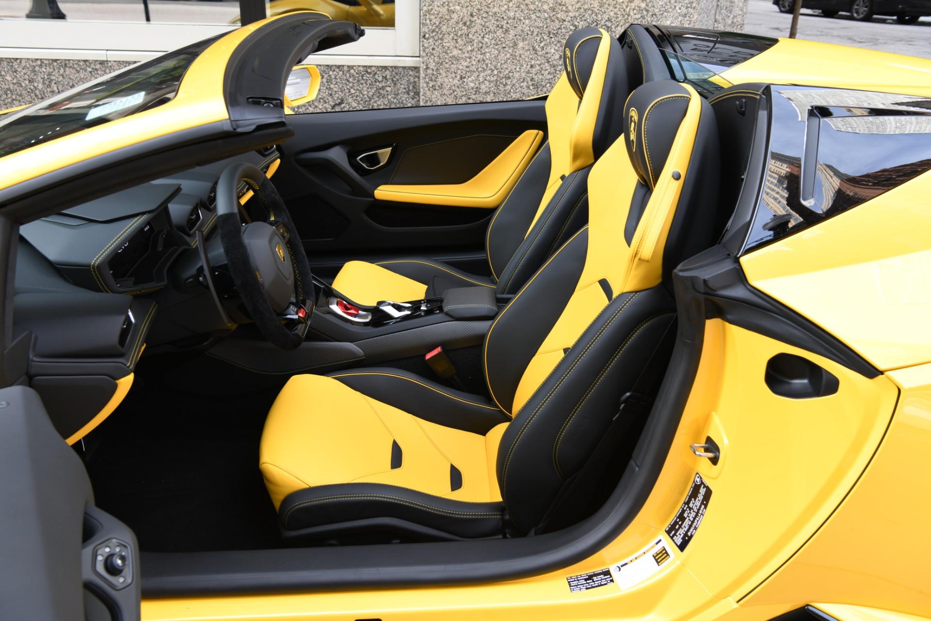 New 2020 Lamborghini Huracan EVO Spyder LP 610-4 EVO Spyder | Chicago, IL