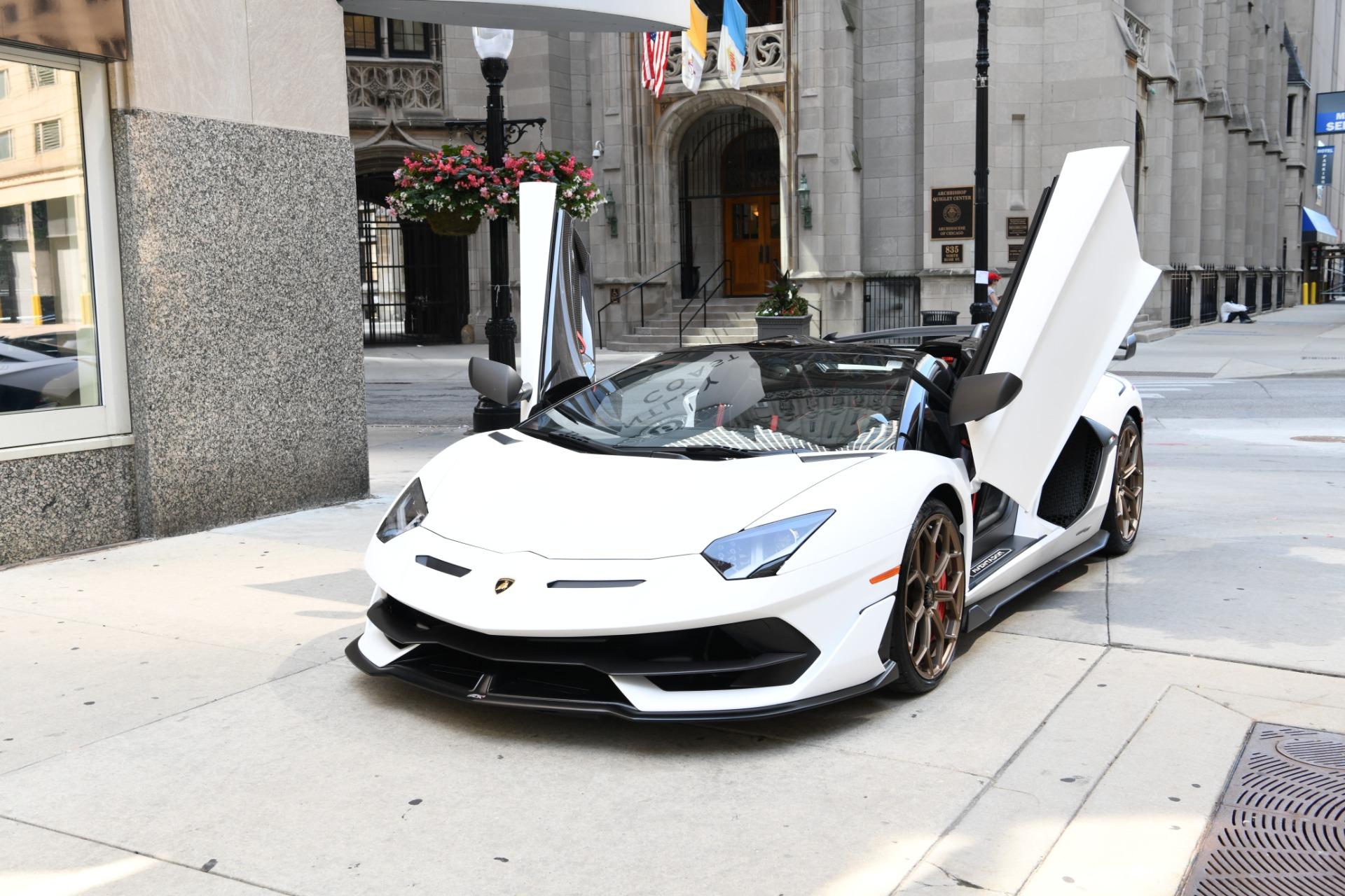2020 Lamborghini Aventador Svj Roadster Lp 770 4 Svj Stock L798 For Sale Near Chicago Il Il Lamborghini Dealer