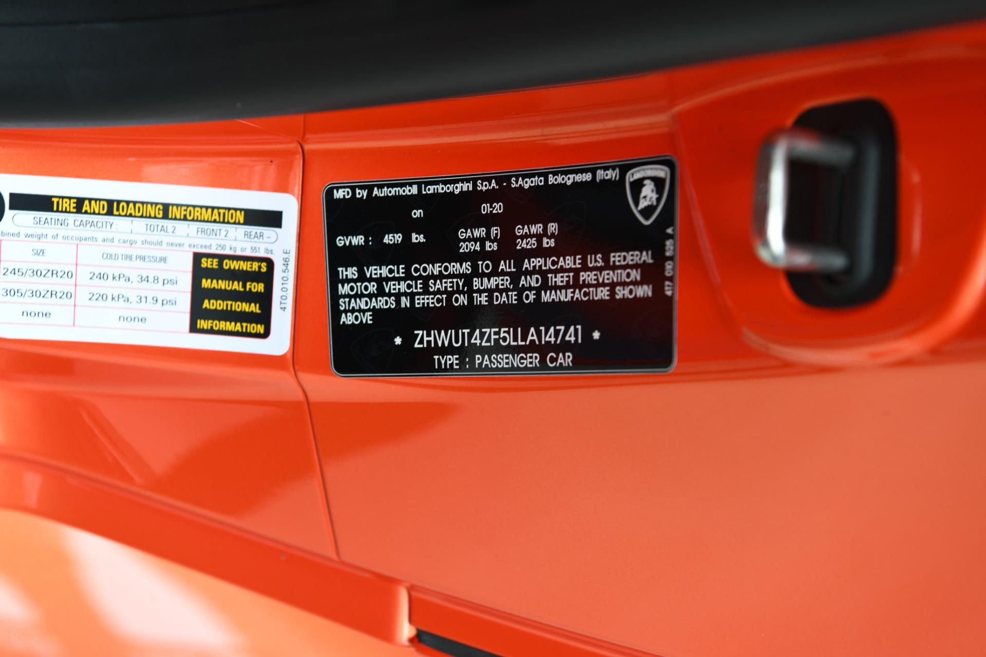 Used 2020 Lamborghini Huracan EVO Spyder LP 640-4 EVO Spyder | Chicago, IL