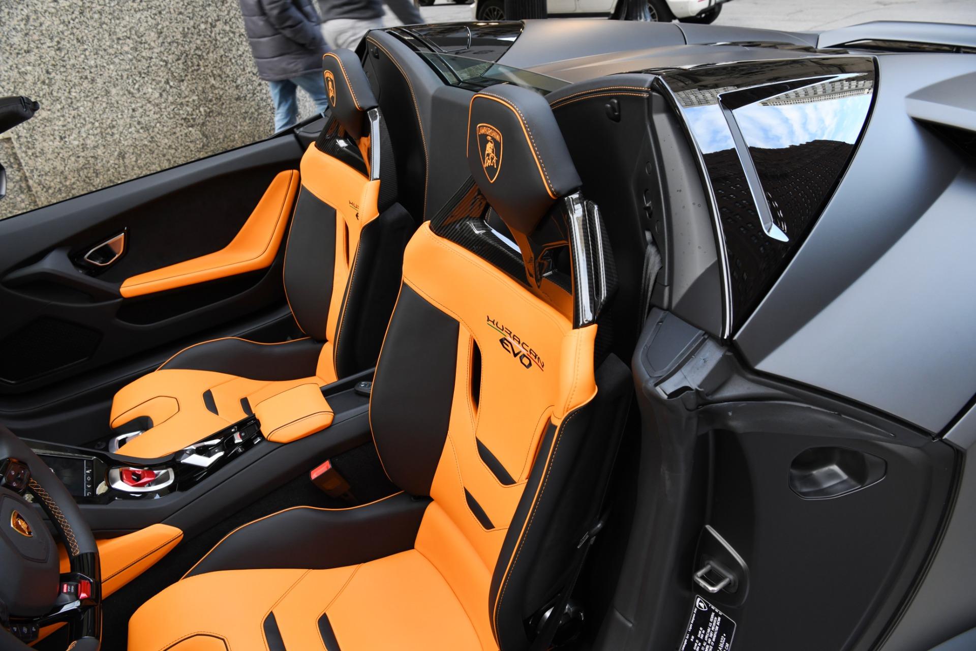 Used 2021 Lamborghini Huracan Evo Spyder LP 610-2 EVO Spyder | Chicago, IL
