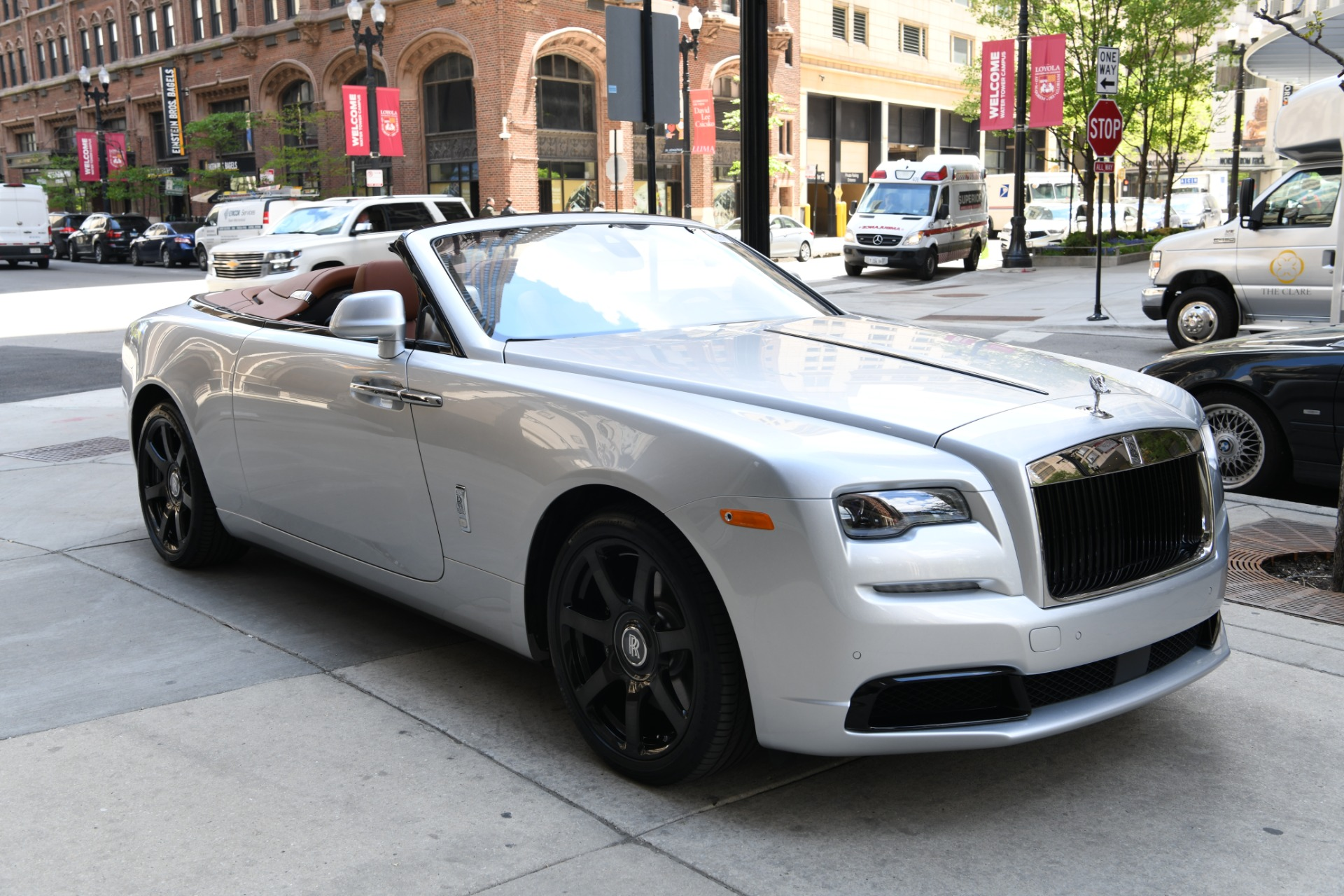 New 2021 Rolls-Royce Dawn SILVER BULLET COLLECTION | Chicago, IL