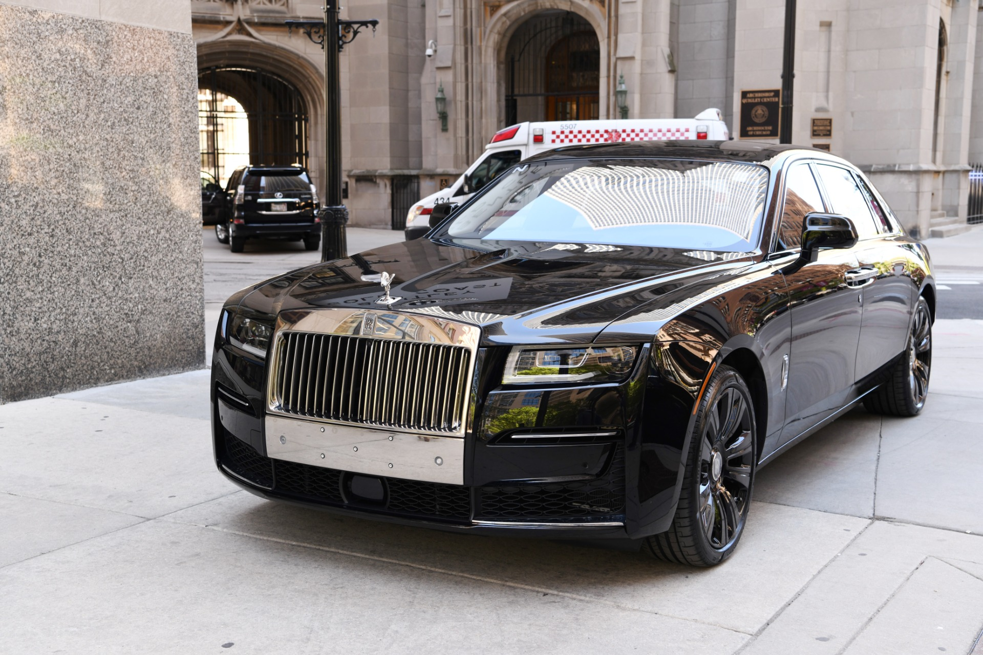 New 2021 Rolls-Royce Ghost EXTENDED WHEELBASE EWB | Chicago, IL