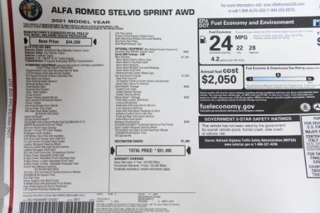New 2021 Alfa Romeo Stelvio Sprint | Chicago, IL