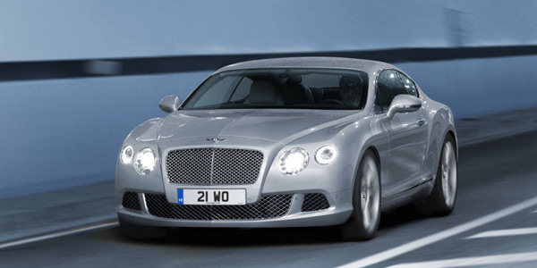 New Continental GT finished in Extreme Silver